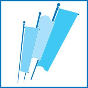 bandiere verticale